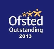 ofsted outstanding 2013 logo